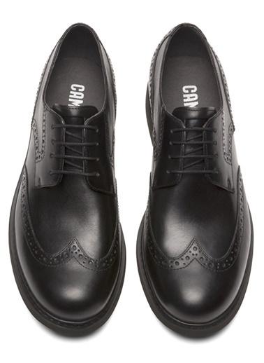 %100 Deri Oxford Ayakkabı-Camper